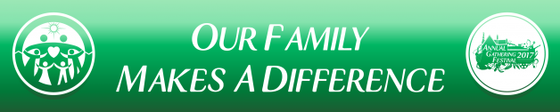 AGF 2017 Banner - Our Family Makes A Difference
