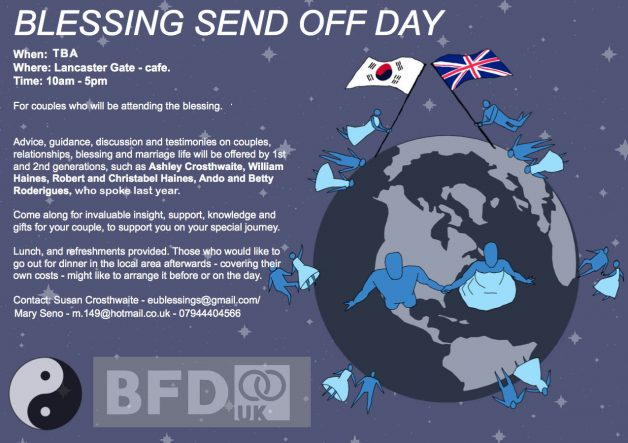Blessing Send Off Day Cancelled this year