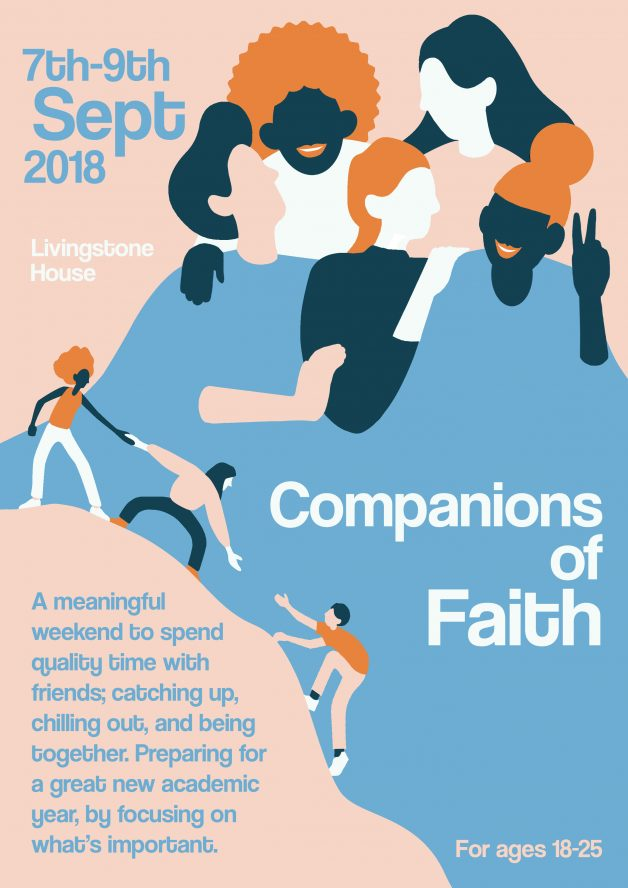 Companions of Faith Weekend 7-9 Sept Livingstone House
