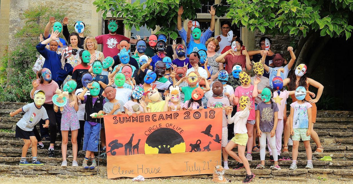 Childrens Summer Camp At Cleeve House In July 2018 Was A Huge Success