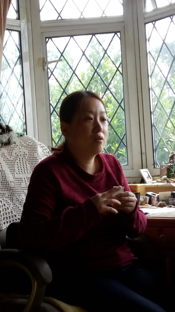 Blessing Preparation for our UK 1st Gen. Blessing Candidates   Mami Morimitsu-Papp and 1,000 cranes